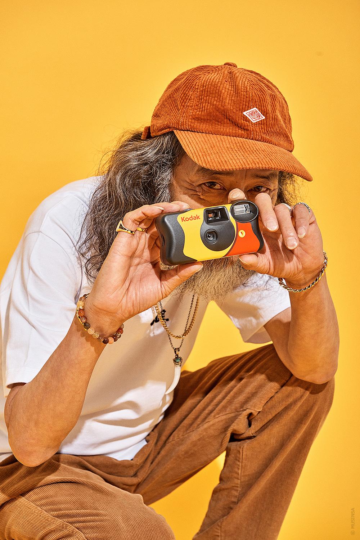 애끼(AEKKI) Gold 매트블랙 6mm 체인팔찌