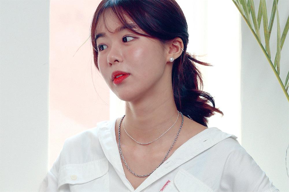 애끼(AEKKI) #엔트로 체인목걸이